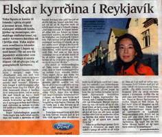 2006年10月 Frettabladid紙